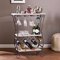 Southern Enterprises Chandler Wine Storage Table