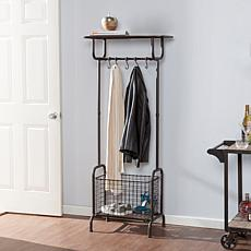 Southern Enterprises Chaya Metal Entryway Storage Rack
