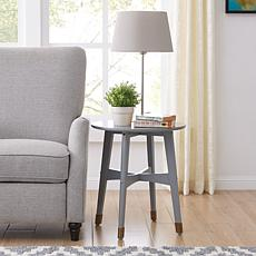 Southern Enterprises Hollisa End Table - Gray