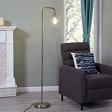 Southern Enterprises Holmes Floor Lamp - Antique Brass