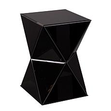 Southern Enterprises Jeannette Mirrored Accent Table -