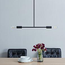 Southern Enterprises Lienz 2-Light Pendant - Black