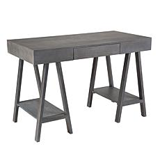 Southern Enterprises Morton Desk - Gray Wash