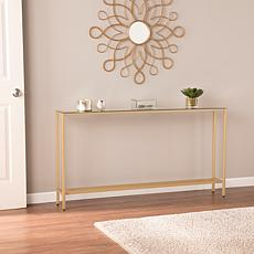 Southern Enterprises Pinsley Long Console Table