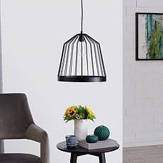 Southern Enterprises Robyn Pendant Lamp - Black