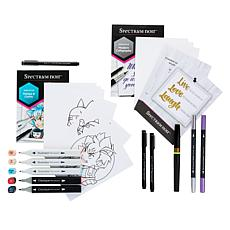 Spectrum Noir Calligraphy and Manga & Comic Discovery Kits