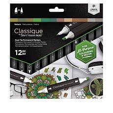 Spectrum Noir Classique Alcohol Ink Markers Set of 12