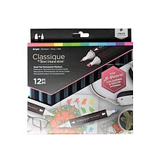 SPECTRUM Noir Classique Alcohol Markers Brights Set of 12