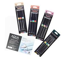 Spectrum Noir Sparkle Pens and Watercolor Paper Bundle