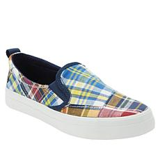 Sperry Crest Twin Gore Printed Canvas Slip-On Sneaker