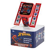 Spider-Man Kids' Red Interactive Smart Watch