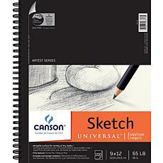 "Spiral Sketch Book 9"" x 12"" - 100 Sheets"