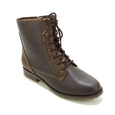 Sporto® Lace-Up Ankle Boot with Side Zipper