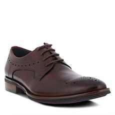 Spring Step Men's Charlie Leather Lace-Up Wingtip Shoe
