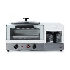 SPT BM-1120B 3-in-1 Breakfast Maker in Stainless Steel