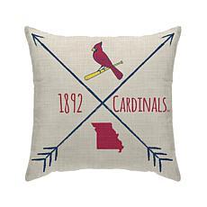 "St Louis Cardinals 18""X18"" Duck Cloth  Décor Pillow"