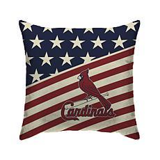 "St. Louis Cardinals 18""X18"" Duck Cloth  Décor Pillow"
