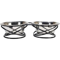 Stainless Steel Spring-Style Set of 2 1-Quart Bowls