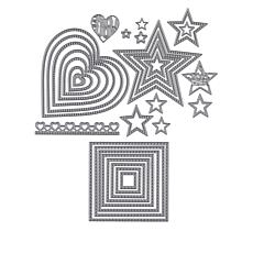 Stamps of Life Dotted Shapes Die Sets