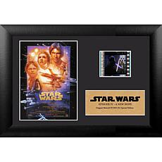 Star Wars: A New Hope 7x5 Framed FilmCells Presentation w/ Easel Stand