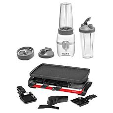 Starfrit Electric Personal Blender and Raclette Party Grill Set