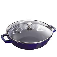 "Staub 12"" Cast-Iron Perfect Pan"