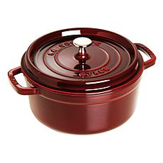 Staub Cast Iron 4 Qt. Round Cocotte - Marjolique Colors