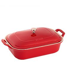 Staub Ceramics Covered Rectangular Baking Dish
