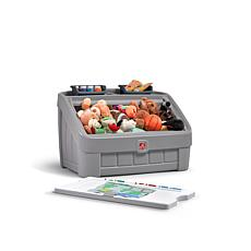 Step2 2-in-1 Toy Box & Art Lid - Gray