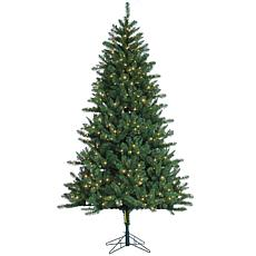 Sterling 7-1/2' Clear Lighted Hawthorne Pine Tree with