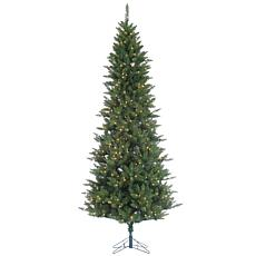 Sterling 9' Narrow Nordic Fir Lighted Christmas Tree