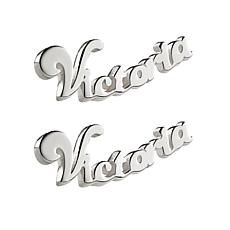 Sterling Silver Personalized Name Crawler Earrings