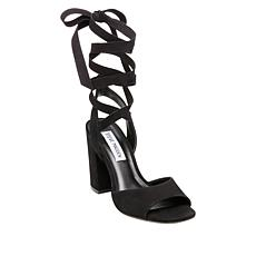 Steve Madden Kenny Leather Ankle Wrap Dress Sandal