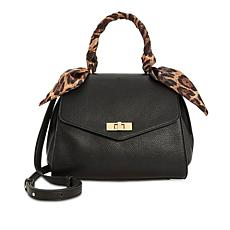 Steve Madden Maeve Top Handle Satchel with Scarf