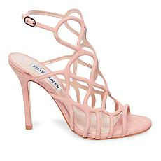 Steve Madden Teagan Leather Caged Stiletto Sandal
