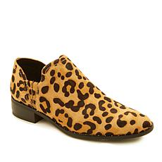 Steven by Steve Madden Choncey Leopard-Print Haircalf Leather Shootie