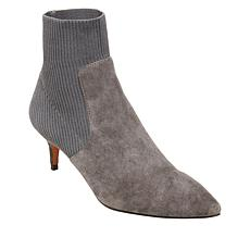 176a642b789 Steven by Steve Madden Kagan Suede and Knit Sock Bootie
