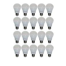 StoreSmith 20-pack A19 60-Watt Dimmable LED Bulbs - Soft White