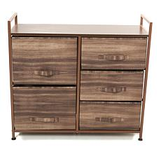 StoreSmith 5-Drawer Rolling Storage Chest