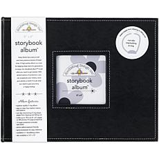 "Storybook Album 8"" x 8"" - Beetle Black"