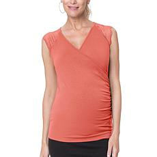 Stowaway Collection Chelsea Maternity and Nursing Top