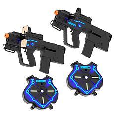Strike Pros Laser Tag Reality Gaming Kit Set (2 Pack)