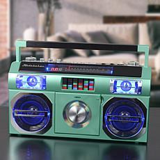 Studebaker Master Blaster Bluetooth Boombox w/AM/FM Radio & CD Player