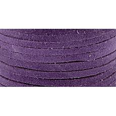 Suede Lace in Purple - 25 Yards