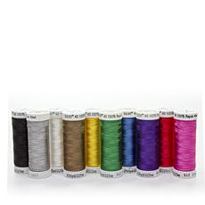 Sulky 40wt Rayon Thread 10-pack - Popular