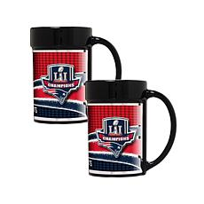 Super Bowl LI Champions 2-piece Coffee Mug Set