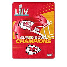 "Super Bowl LIV Champions 60"" x 80"" Throw"