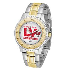 Super Bowl LV Champs Two-Tone Competitor Series Watch - Bucs