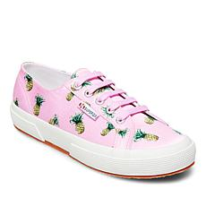 Superga Printed Fabric Lace-Up Sneaker