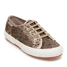 Superga Sequin-Covered Lace-Up Sneaker